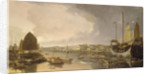 A view of the European factories at Canton by William Daniell