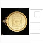 Astrolabe: dismounted obverse by Erasmus Habermel
