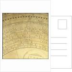Astrolabe: detail obverse by Thomas Gemini