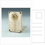 Diptych dial, leaf IIb by Hans Ducher