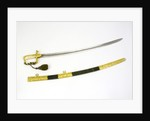 Presentation sword which belonged to Captain James Analby Legard by Salter