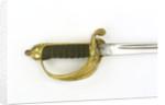 Sword, solid half-basket hilt by Friedeberg