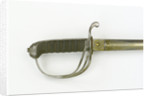 Hilt of sword, Royal Marines by Dudley