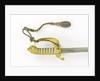 Hilt of sword, (solid half-basket hilt) by unknown