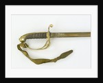 Hilt of sword, Royal Marines by unknown