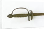Hilt of small-sword, thought to have belonged to Rear-Admiral Robert Keeler (active 1756-1790) by unknown