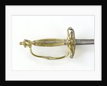 Small-sword which belonged to Alderman Joshua Jonathan Smith (active 1810-1844) by Thomas Langford