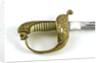 German solid half-basket hilted sword by unknown