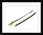 S-Bar fighting sword by Francis Crump