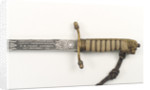 Dirk, made after 1856, which belonged to Rear-Admiral Geoffrey Frederick Burghard (active 1913-1952) by Gieves Ltd.