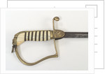 Stirrup hilted dress sword by unknown