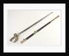 Pierced half-basket hilted sword by Batten & Adams
