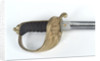 Solid half-basket hilted sword by W.E. Legge