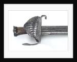 Hilt of hanger (sword) by unknown