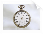 Pocket watch in silver pair case by Richard Story
