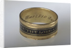 Mourning ring by H.W.