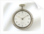 Watch in silver pair case by Thomas Leyden