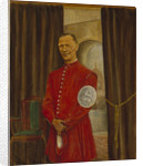 Mr Henry Hayes in his doggett coat with arm badge by S.