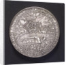 Medal commemorating the Battle of Nieuport, 1600; obverse by unknown