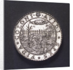 Medal commemorating the capture of the Spanish galleon 'St Jacob' off St Helena; obverse by unknown