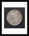 Medal commemorating the defeat of the Spanish Armada, 1588; reverse by unknown