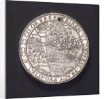 Medal commemorating the action off the Goodwin Sands, 1602; reverse by unknown