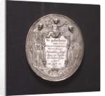 Medal commemorating the death of Captain Dirck Gerritsen Witte Paert, 1667; obverse by unknown
