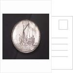 Medal commemorating the death of Captain Dirck Gerritsen Witte Paert, 1667; reverse by unknown