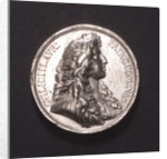 Medal commemorating William of Orange appointed Captain-General and Admiral, 1672; obverse by unknown