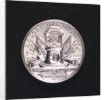 Medal commemorating the Battle of Doggerbank and Admiral Bentinck; reverse by Johann Georg Holtzhey