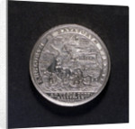 Medal commemorating the Expedition to Vigo Bay, 1702; reverse by unknown