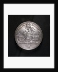Medal commemorating Barcelona relieved and the conquest of Brabant, 1706; obverse by G. Hautsch