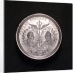 Medal commemorating the Battle of Cape Passaro, 1718; obverse by G.W. Vestner