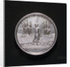 Medal safety at sea; obverse by P.P. Werner