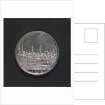 Medal commemorating Hamburg Millenary, 1803; reverse by D.F. Loos