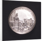 Medal commemorating the capture of the Morea, 1687; reverse by M. Brunner