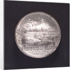 Medal commemorating the inauguration of Cronstadt Harbour, 1752; reverse by T. Iwanov