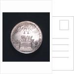 Medal commemorating the Port of Hamburg; reverse by I.K.