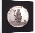Medal commemorating the bombardment of Genoa, 1684; obverse by unknown