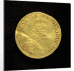 Double ducat; obverse by unknown