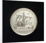 Medal commemorating volunteers from Scandinavia, 1849; reverse by P. Petersen