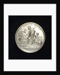Medal commemorating the defence of Colberg and Paul von Werner, 1760; reverse by N. Georgi