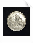 Medal commemorating the defence of Colberg and H.S. von der Heyde, 1760; reverse by N. Georgi
