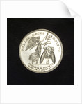 Medal commemorating Admiral Clas Christersson Horn (1520-1566); reverse by C.G. Fehrman