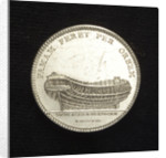 Medal commemorating Admiral Frederick Henry Chapman (1721-1808); reverse by C.M. Frumerie