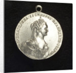 Naval reward medal commemorating the action off Chesmé, 1770 by T. Iwanov
