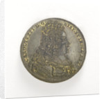 Counter commemorating the relief of Barcelona, 1706; obverse by J.G. Lauffer