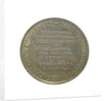 Naval reward counter commemorating the action off Eckernförde, 1849 by Lowenstein