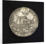 Counter commemorating the blockade of the Dardanelles, 1646; reverse by I.A. Batagia
