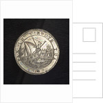 Counter commemorating peace with the Barbary pirates, 1795; obverse by Francesco Zane